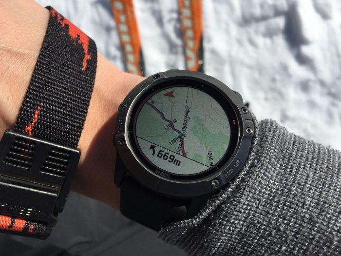 Fenix 6X Pro Solar outdoor