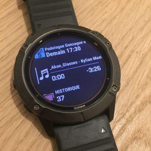 Montre connectée Fenix 6X Pro Solar