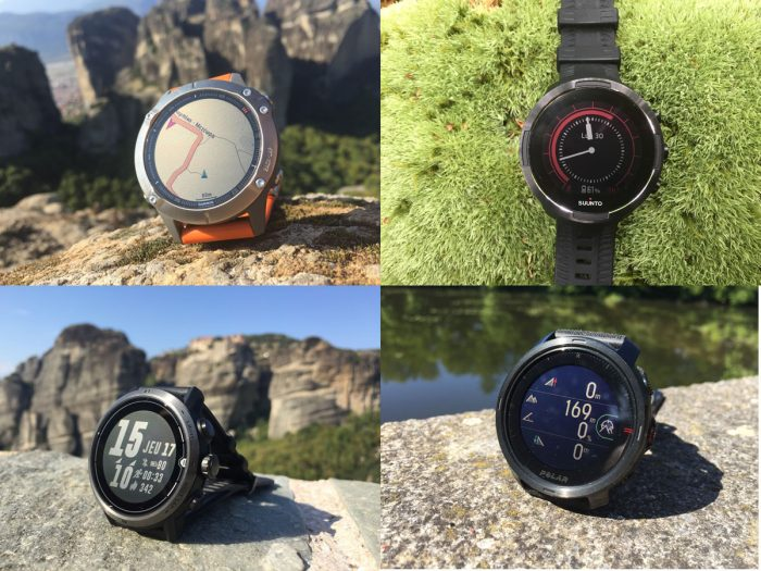 Montres GPS trail