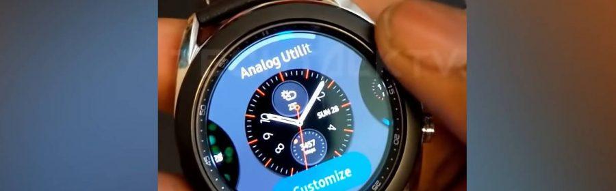Galaxy Watch 3 interface