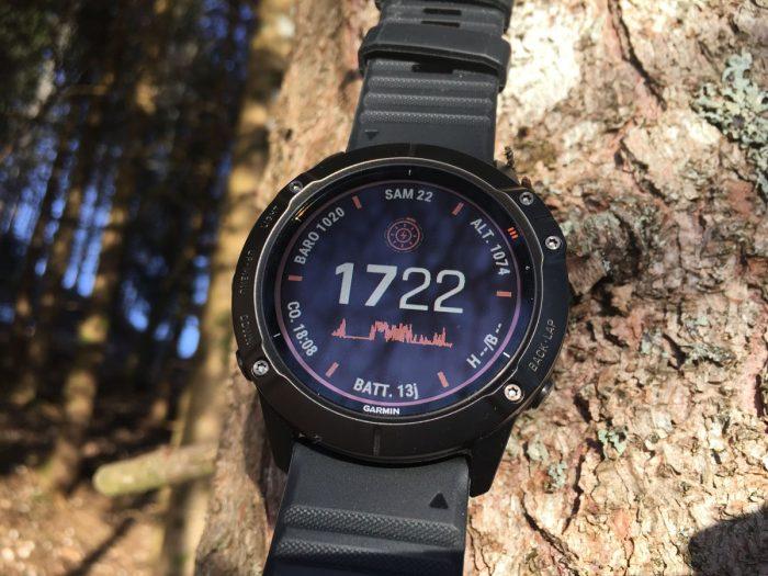 Montre GPS recharge solaire
