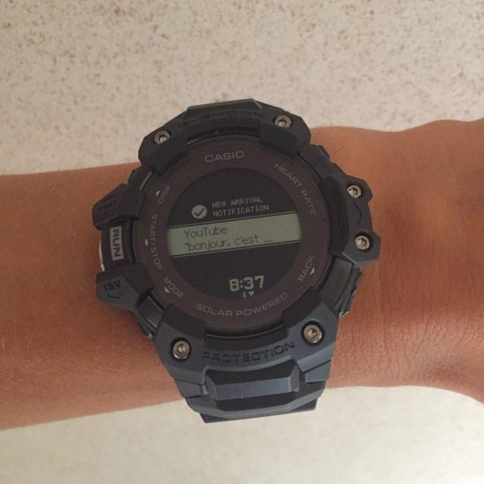 Montre connectée G-Shock G-Squad HR