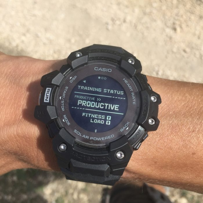 Running G-Shock G-Squad HR
