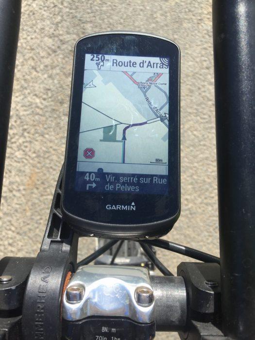 Cartographie Edge 1030 Plus