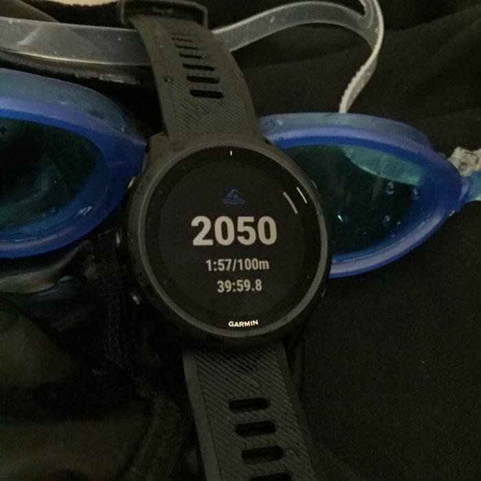 Forerunner 745 natation