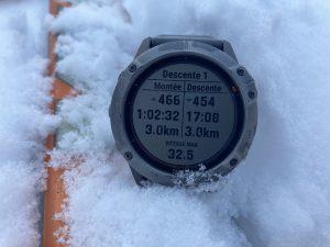 Garmin Fenix 6X Pro ski de rando
