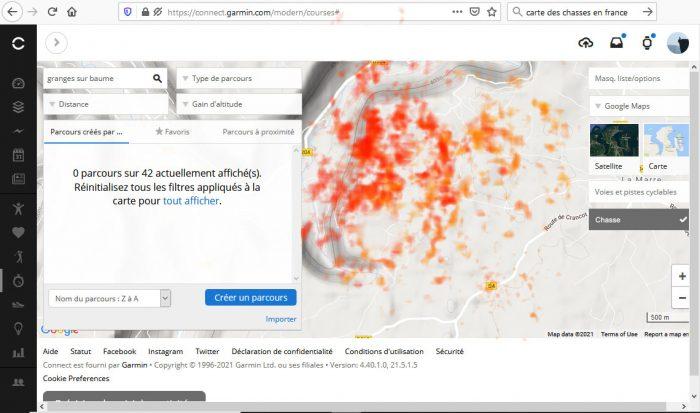 Heatmap chasse 3