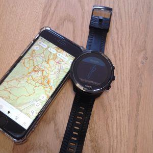 Navigation montre GPS Suunto