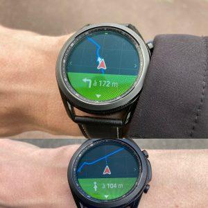 Galaxy Watch 3 Komoot