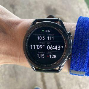 Galaxy Watch 3 champs de donnée