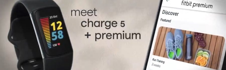 Présentation Fitbit Charge 5