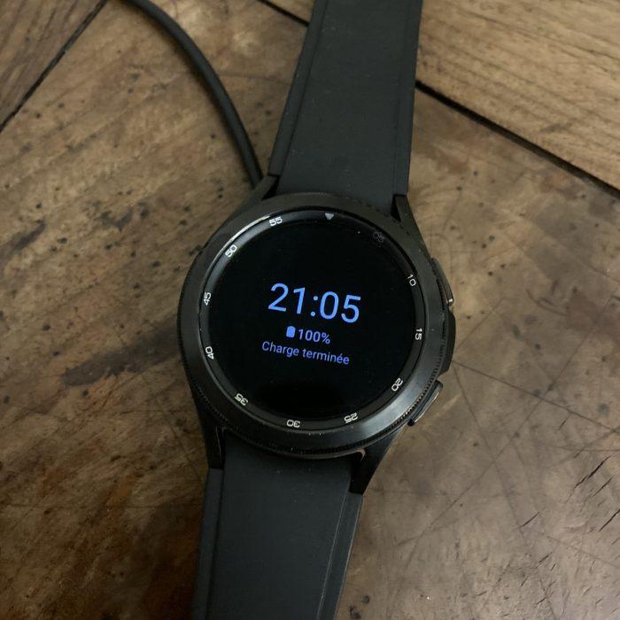 Autonomie Galaxy Watch 4