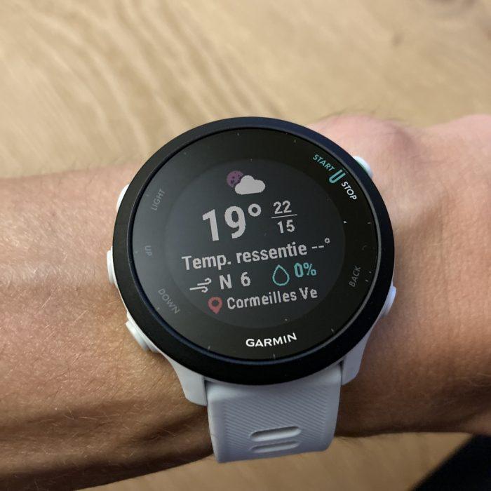 Forerunner 55 montre connectée