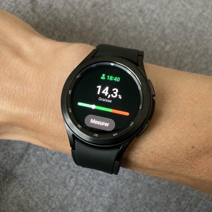 Galaxy Watch 4 suivi santé