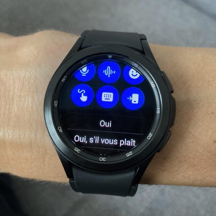 Montre connectée Galaxy Watch 4